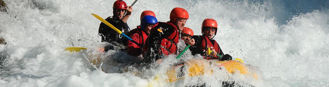 Descente en rafting La Guisane à Serre Chevalier (05)