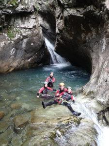 Canyon des Oules de Freissinières